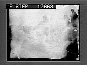 view [Men competing in outdoor foot race in Cambridge, Massachusetts.] 1860 photonegative digital asset: [Men competing in outdoor foot race in Cambridge, Massachusetts.] 1860 photonegative.