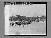 """view Boston, Mass.: 2,200 school children played """"America"""" at climax of New England School Band and Orchestra festival. Photo shows parade of the youngsters on Boston Common. 5/24/26. 1916 photonegative digital asset: Boston, Mass.: 2,200 school children played """"America"""" at climax of New England School Band and Orchestra festival. Photo shows parade of the youngsters on Boston Common. 5/24/26. 1916 photonegative 1926."""