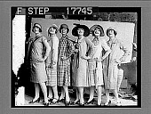 view Straight Lines and Shorter Skirts for Summer Wear. [photonegative] digital asset: Straight Lines and Shorter Skirts for Summer Wear. [photonegative], 5/26/1926.