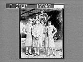 view Straight lines and shorter skirts for summer wear. [Non-stereo photonegative] digital asset: Straight lines and shorter skirts for summer wear. [Non-stereo photonegative], 05/26/1926.