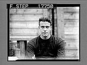 view Skipper of Harvard 1927 football team. [photonegative] digital asset: Skipper of Harvard 1927 football team. [photonegative], 09/17/1927.
