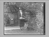 view [Garden portrait.] 1949 photonegative digital asset: [Garden portrait.] 1949 photonegative.