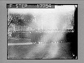 view [University graduation procession outdoors. Active no. 1952 : photonegative.] digital asset: [University graduation procession outdoors. Active no. 1952 : photonegative.]