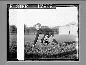 view Harvard Football (1927 team) [photonegative] digital asset: Harvard Football (1927 team) [photonegative].