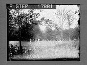 view Golfers on country course. 2025 photonegative digital asset: Golfers on country course. 2025 photonegative 1926