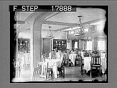 view [Large interior dining area.] 2028 photonegative digital asset: [Large interior dining area.] 2028 photonegative.