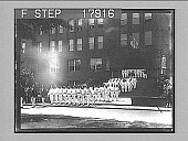 view [Student outdoor ceremonies at Brookline High School in Massachusetts.] 2043 Photonegative digital asset: [Student outdoor ceremonies at Brookline High School in Massachusetts.] 2043 Photonegative 1926.
