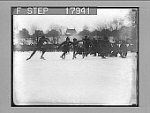 view [Ice skaters racing on rural pond. Active no. 2473 : non-stereo photonegative] digital asset: [Ice skaters racing on rural pond. Active no. 2473 : non-stereo photonegative].