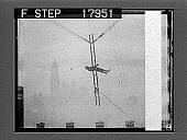 view [Acrobatics on a ladder.] 1237 photonegative digital asset: [Acrobatics on a ladder.] 1237 photonegative.