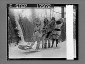 view [Snow scene.] Caption no. 1239 : photonegative digital asset: [Snow scene.] Caption no. 1239 : photonegative, 1926.