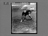 view [Football player, caption no. 10080 : photonegative.] digital asset: [Football player, caption no. 10080 : photonegative.]