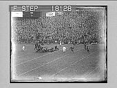 view [Football action and crowd at Yankee Stadium. Active no. 10162 : non-stereo photonegative.] digital asset: [Football action and crowd at Yankee Stadium. Active no. 10162 : non-stereo photonegative.]