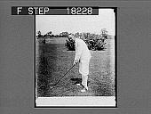 view Close-up of golfer in knickers. 9946 photonegative digital asset: Close-up of golfer in knickers. 9946 photonegative.