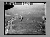 view [Early bi-plane in flight.] 9972 photonegative digital asset: [Early bi-plane in flight.] 9972 photonegative.