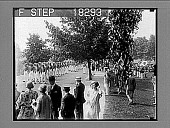 view [West Point cadets and band marching outside. 10014A-1 : photonegative,] digital asset: [West Point cadets and band marching outside. 10014A-1 : photonegative,] 1929.