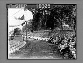 view [West Point graduation ceremonies; overall side view.] 10020 Photonegative digital asset: [West Point graduation ceremonies; overall side view.] 10020 Photonegative 1929.