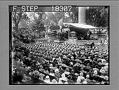 view [West Point graduation ceremonies; view from rear.] 10021 Photonegative digital asset: [West Point graduation ceremonies; view from rear.] 10021 Photonegative 1929.