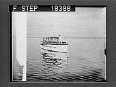 view [Motorboat on river.] 10058 Photonegative digital asset number 1
