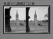 view The Albert Memorial, Hyde Park, London. [Caption no. 118 stereo interpositive,] digital asset: The Albert Memorial, Hyde Park, London. [Caption no. 118 stereo interpositive,] 1912.