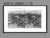 """view The """"Coster"""" side of the Derby (the """"fakirs"""" section of the great race-course), Derby Day, Epsom. [Active no. 157 : stereo interpositive.] digital asset: The """"Coster"""" side of the Derby (the """"fakirs"""" section of the great race-course), Derby Day, Epsom. [Active no. 157 : stereo interpositive.]"""