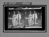 view The crowned King, Edward VII and Queen Alexandra in coronation robes, on their return from Westminster Abbey, Buckingham Palace. [Active no. 257 : stereo interpositive,] digital asset: The crowned King, Edward VII and Queen Alexandra in coronation robes, on their return from Westminster Abbey, Buckingham Palace. [Active no. 257 : stereo interpositive,] 1902.