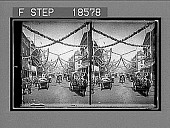 view St. James Street in coronation attire--charming scene of decoration along the coronation route. 271 Interpositive 1902 digital asset number 1