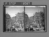 view Coronation decorations in Fleet Street. 279 Interpositive 1902 digital asset number 1