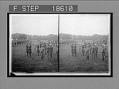 view Duke of Connaught and Lord Kitchener, commander-in-chief Indian Army, reviewing His Majesty's royal forces. [Active no. 336 : stereo interpositive,] digital asset: Duke of Connaught and Lord Kitchener, commander-in-chief Indian Army, reviewing His Majesty's royal forces. [Active no. 336 : stereo interpositive,] 1902.