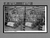view Damask weaving room, making the richly patterned Irish linen, Belfast. 513 interpositive digital asset: Damask weaving room, making the richly patterned Irish linen, Belfast. 513 interpositive 1905.