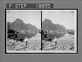 view Picturesque Svolvaer, a far north (68-1/2 degrees N. lat.). Fishing Station, Lofoten Islands, Northern Norway. Active no. 694 : stereo interpositive digital asset: Picturesque Svolvaer, a far north (68-1/2 degrees N. lat.). Fishing Station, Lofoten Islands, Northern Norway. Active no. 694 : stereo interpositive.