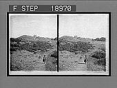 view Tumuli of Pagan Kings, named after Scandinavian gods, and Church, Gamla, Upsala. 843 Interpositive digital asset: Tumuli of Pagan Kings, named after Scandinavian gods, and Church, Gamla, Upsala. 843 Interpositive 1905.