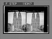 view Facade and lower part of huge towers, Cathedral, Cologne. 1368 Interpositive digital asset: Facade and lower part of huge towers, Cathedral, Cologne. 1368 Interpositive 1900.
