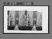 view Interior of Cathedral, Brussels. 1468 Interpositive digital asset: Interior of Cathedral, Brussels. 1468 Interpositive 1908.