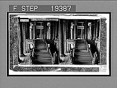 view The Grand Stairway, Palace of Justice, Brussels. [Active no. 1472 : stereo interpositive,] digital asset: The Grand Stairway, Palace of Justice, Brussels. [Active no. 1472 : stereo interpositive,] 1900.