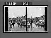 view Everyday business on the narrow water-way of a little Dutch town, Volendam. 1525 interpositive digital asset: Everyday business on the narrow water-way of a little Dutch town, Volendam. 1525 interpositive 1905.