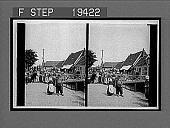 view Neighbors big and little in a tidy street along the dike, Volendam. 1526 interpositive digital asset: Neighbors big and little in a tidy street along the dike, Volendam. 1526 interpositive 1905.