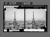 view Eiffel Tower (300 meters) 984 feet high, looking across the Seine from Trocadero, Paris. [Active no. 1560 : stereo interpositive,] digital asset: Eiffel Tower (300 meters) 984 feet high, looking across the Seine from Trocadero, Paris. [Active no. 1560 : stereo interpositive,] 1905.