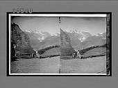 view The Breighorn (12,400 feet), and Tschingelhorn (11,748 feet), Upper Lauterbrunnen Valley. [Active no. 1763 : stereo interpositive,] digital asset: The Breighorn (12,400 feet), and Tschingelhorn (11,748 feet), Upper Lauterbrunnen Valley. [Active no. 1763 : stereo interpositive,] 1896.