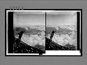view Two miles above the clouds--from summit of Fujiyama N.E. over Lake Yamanaka, 10 miles away. 3857 Interpositive digital asset: Two miles above the clouds--from summit of Fujiyama N.E. over Lake Yamanaka, 10 miles away. 3857 Interpositive.