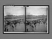 view Atlantic City's crowded beach. [Active no. 5502 : stereo interpositive.] digital asset: Atlantic City's crowded beach. [Active no. 5502 : stereo interpositive.]