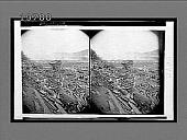 view Wreck of the stone bridge, Johnstown. 5531 interpositive digital asset: Wreck of the stone bridge, Johnstown. 5531 interpositive.