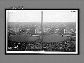view From Washington Monument (N.), the White House, Treasury and State Department. [Active no. 5581 : stereo interpositive.] digital asset: From Washington Monument (N.), the White House, Treasury and State Department. [Active no. 5581 : stereo interpositive.]