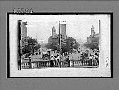 view Pennsylvania Avenue from the Treasury, S.E. to the United States Capitol. [Active no. 5606 : black-and-white stereo interpositive.] digital asset: Pennsylvania Avenue from the Treasury, S.E. to the United States Capitol. [Active no. 5606 : black-and-white stereo interpositive.]