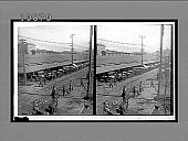 view The old French market and its morning assemblage of wagons, New Orleans, La. 5748 Interpositive digital asset: The old French market and its morning assemblage of wagons, New Orleans, La. 5748 Interpositive.