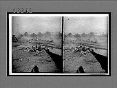 "view An exciting skirmish in the battle of Colenso (""Boer War"" Exhibit). [Active no. 5832 : glass stereoscopic interpositive,] digital asset: An exciting skirmish in the battle of Colenso (""Boer War"" Exhibit). [Active no. 5832 : glass stereoscopic interpositive,] 1903."