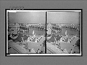 view Statuary, fountain terraces, monument and exhibit buildings about the Basin. 5864 Interpositive digital asset: Statuary, fountain terraces, monument and exhibit buildings about the Basin. 5864 Interpositive 1903.