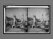 view The Plaza of St. Louis beside Varied Industries Bldg., and Louisiana PUrchase Monument. 5878 Interpositive digital asset: The Plaza of St. Louis beside Varied Industries Bldg., and Louisiana PUrchase Monument. 5878 Interpositive 1903.