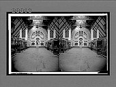 view Famous Temple court guarded by the Imperial Eagle, German Section Varied Industries Bldg. 5916 Interpositive digital asset: Famous Temple court guarded by the Imperial Eagle, German Section Varied Industries Bldg. 5916 Interpositive 1903.