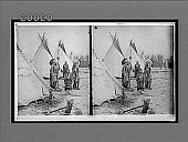 view Cheyenne chief and family, descendants of America's aboriginal princes. Active no. 5923 : stereo interpositive digital asset: Cheyenne chief and family, descendants of America's aboriginal princes. Active no. 5923 : stereo interpositive, 1903.