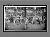 view Log cabin home of President Roosevelt, brought from North Dakota to the World's Fair. [Caption no. 5945 : stereoscopic interpositive,] digital asset: Log cabin home of President Roosevelt, brought from North Dakota to the World's Fair. [Caption no. 5945 : stereoscopic interpositive,] 1903.